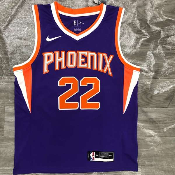 Phoenix Suns 20/21 Purple #22 AYTON Basketball Jersey (Hot Press)