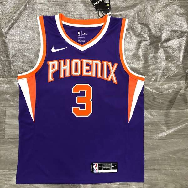 Phoenix Suns 20/21 Purple #3 PAUL Basketball Jersey (Hot Press)