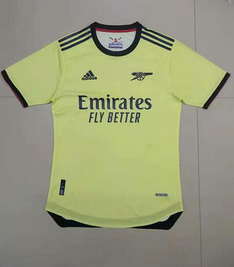 AAA Quality Arsenal 21/22 Away Soccer Jersey(Player)