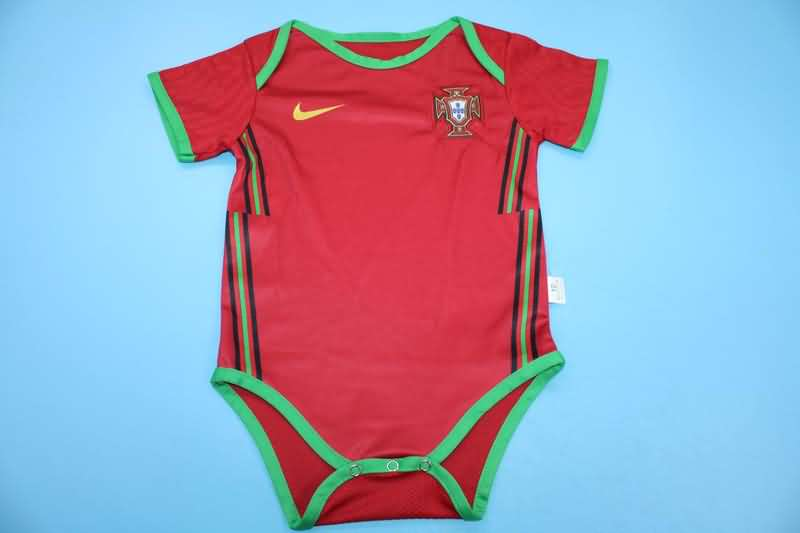 Baby - Portugal 2020/21 EURO Home Soccer Jerseys