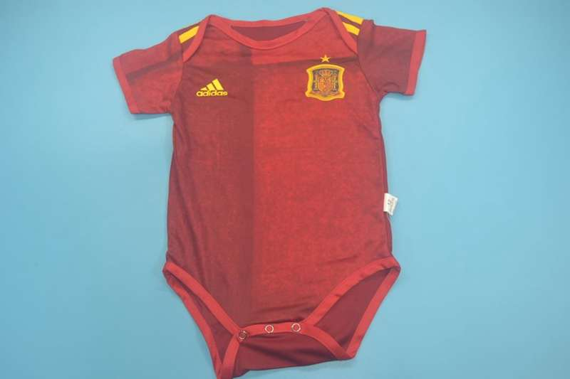 Baby - Spain 2020 EURO Home Soccer Jerseys