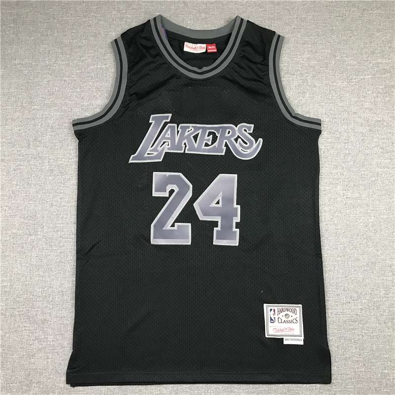 Los Angeles Lakers Black #24 BRYANT Classics Basketball Jersey (Stitched)