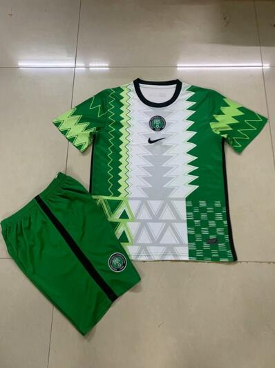 Nigeria 2020 Home Soccer Jersey