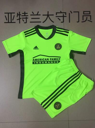 Atlanta United 2021 Goalkeeper Green Soccer Jersey