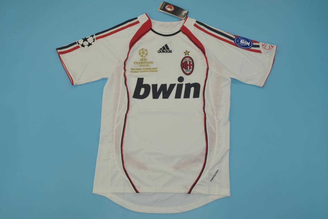AAA Quality AC Milan 06/07 Away Retro Final Soccer Jersey