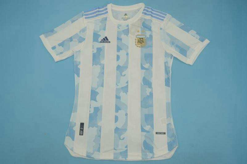 AAA Quality Argentina 2020 Home Soccer Jersey(Player)