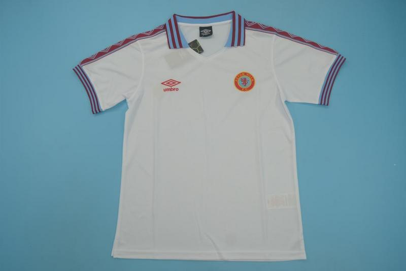 AAA Quality Aston Villa 1980/81 Away Retro Soccer Jersey