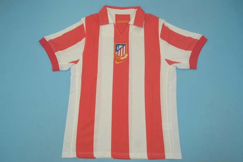 AAA Quality Atletico Madrid 02/03 Home Retro Soccer Jersey