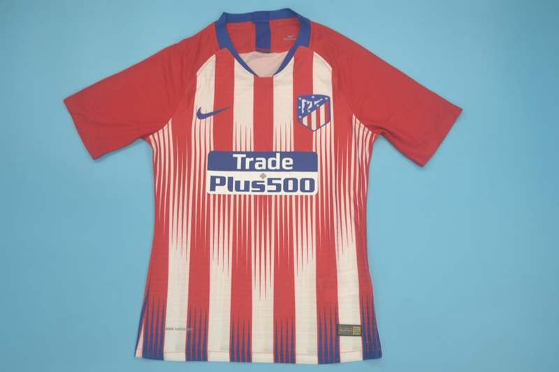 AAA Quality Atletico Madrid 18/19 Home Retro Jersey(Playe)