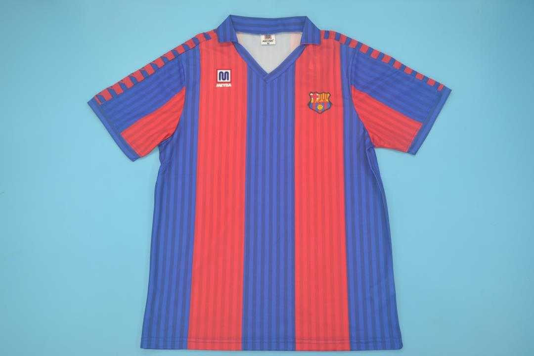 AAA Quality Barcelona 1991/92 Home Retro Soccer Jersey