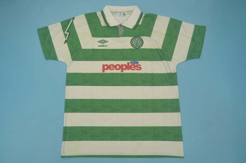 AAA Quality Celtic 1991/92 Retro Home Soccer Jersey
