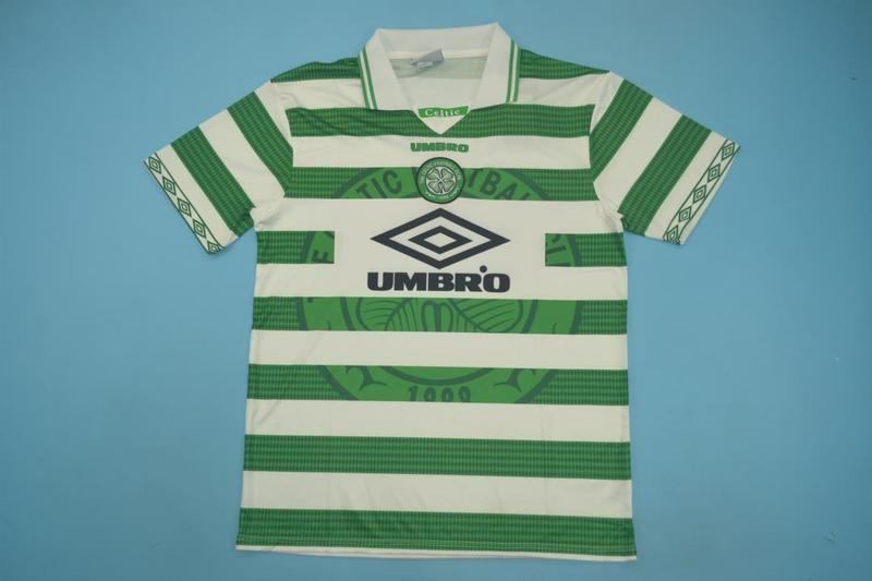 AAA Quality Celtic 1997/99 Retro Home Soccer Jersey