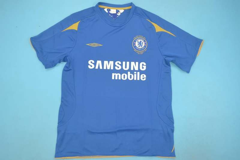 AAA Quality Chelsea 05/06 Home Retro Soccer Jersey
