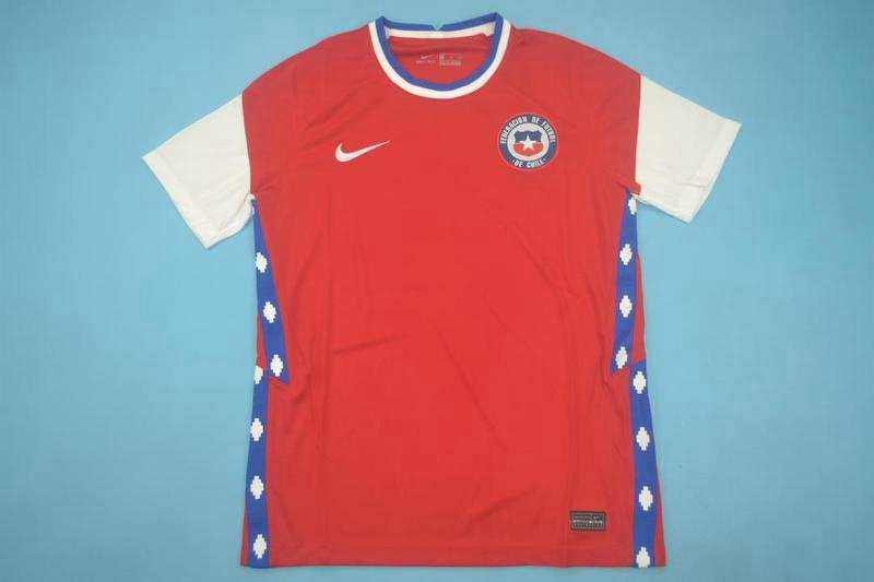 AAA Quality Chile 2020 Home Soccer Jersey