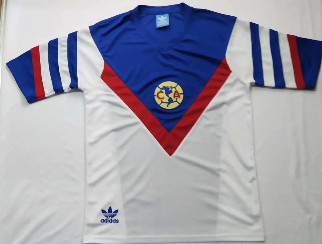 AAA Quality Club America 1981/82 Away Soccer Jersey