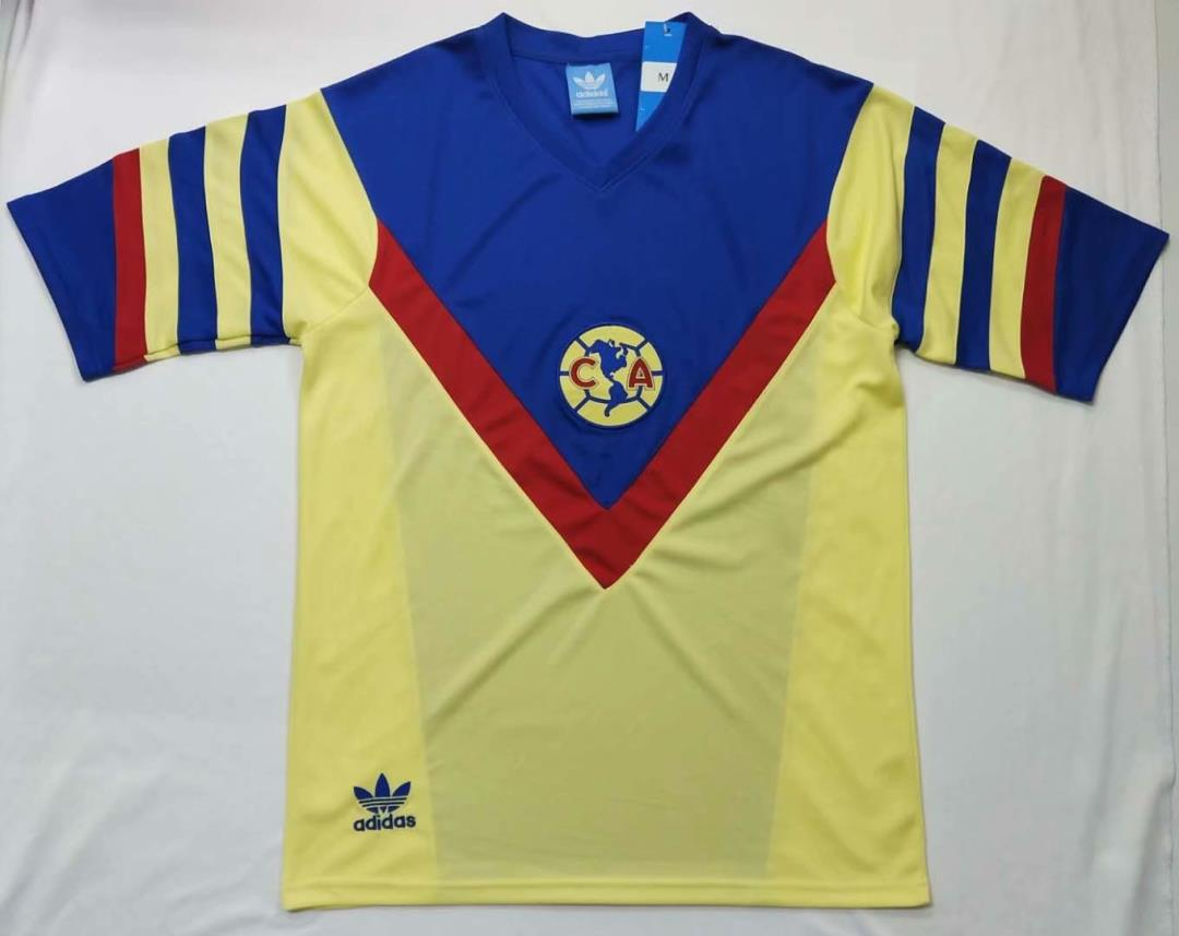 AAA Quality Club America 1981/82 Home Soccer Jersey