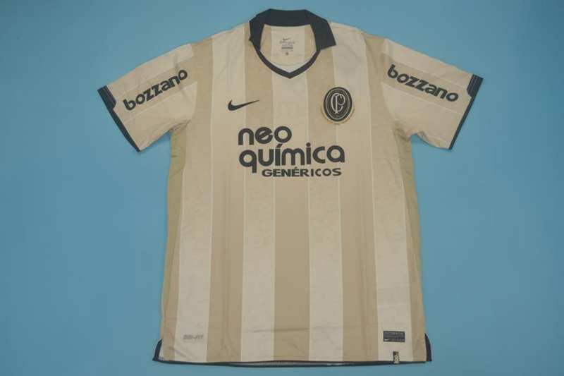 AAA Quality 2010 Corinthians 100 Anniversary Retro Soccer Jersey