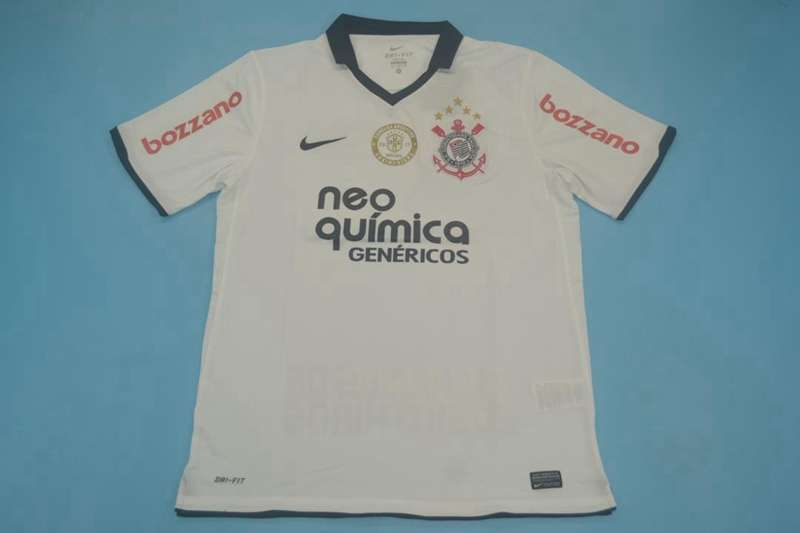 AAA Quality Corinthians 2011 Home Retro Soccer Jersey