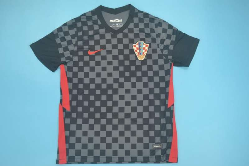 AAA Quality Croatia 2020/21 Away Soccer Jersey