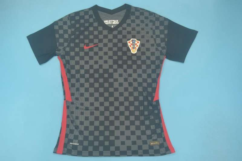 AAA Quality Croatia 2020/21 Away Soccer Jersey(Player)