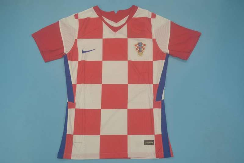 AAA Quality Croatia 2020/21 Home Soccer Jersey(Player)