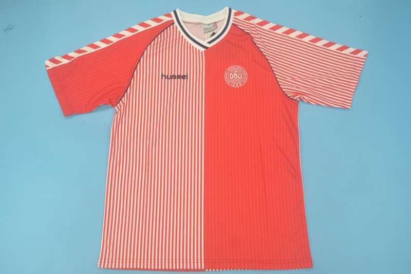 AAA Quality Denmark 1986 Home Retro Soccer Jersey
