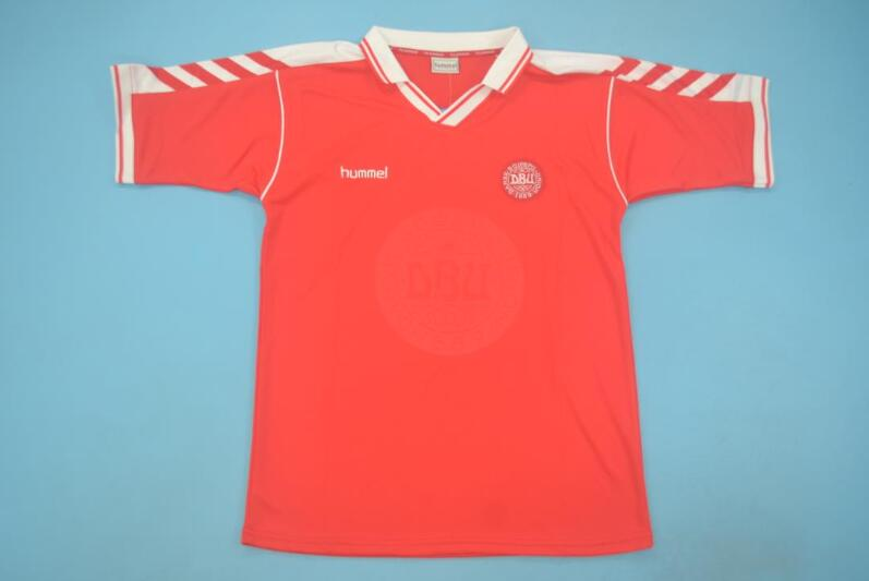 AAA Quality Denmark 1998 Home Retro Soccer Jersey