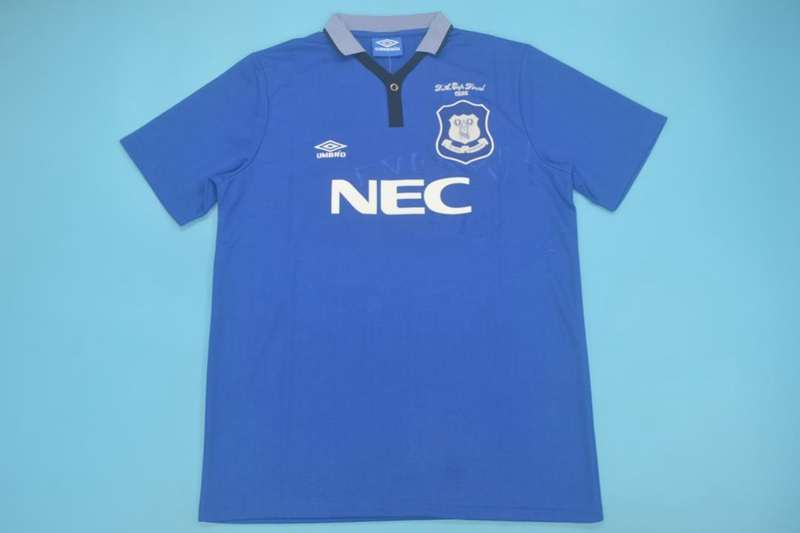 AAA Quality Everton 1995 FA Final Retro Soccer Jersey