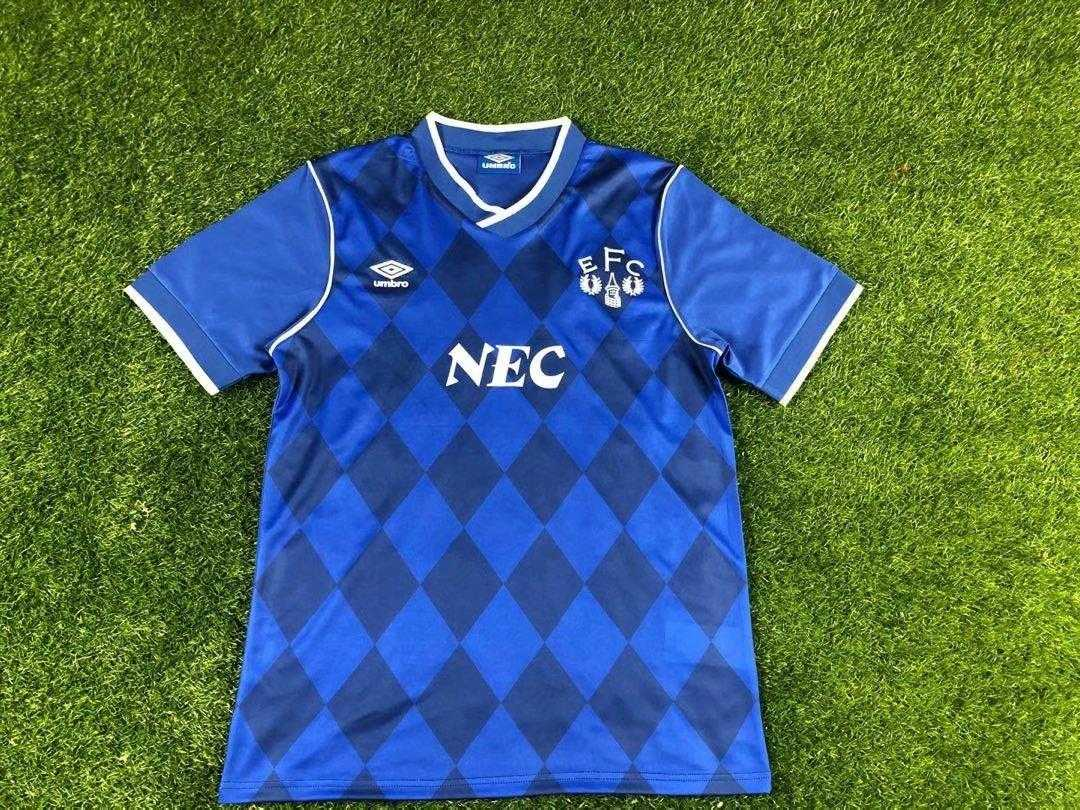 AAA Quality Everton 1986/87 Home Retro Soccer Jersey