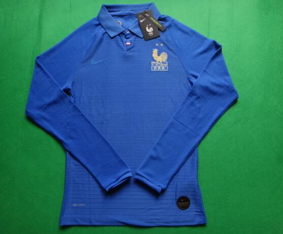 AAA Quality 100 Anniversary France Long Soccer Jersey(Player)
