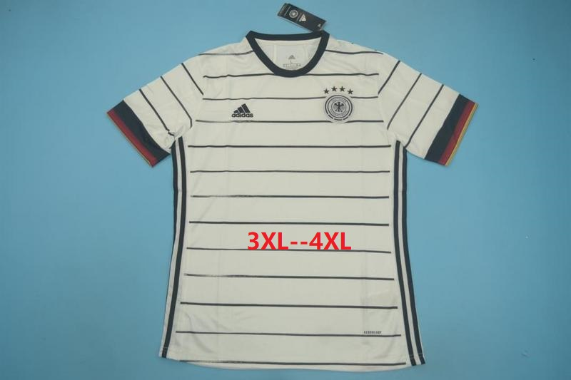 AAA Quality Germany 2020 EURO Home Soccer Jersey(Big Size)