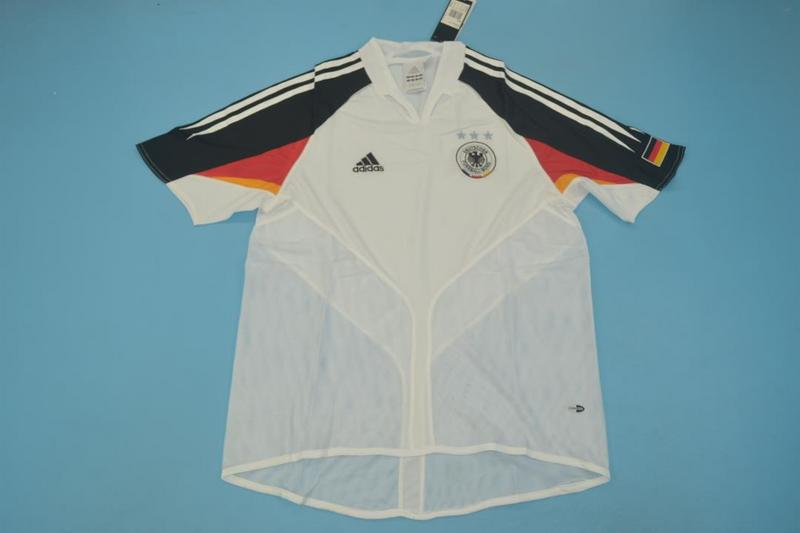AAA Quality 2004 Germany Retro Home Soccer Jersey