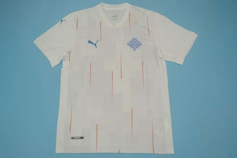 AAA Quality Iceland 2020 Away Soccer Jersey
