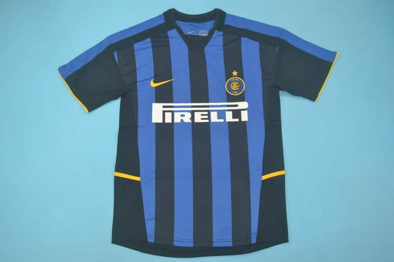 AAA Quality Inter Milan 2002/03 Home Retro Soccer Jersey
