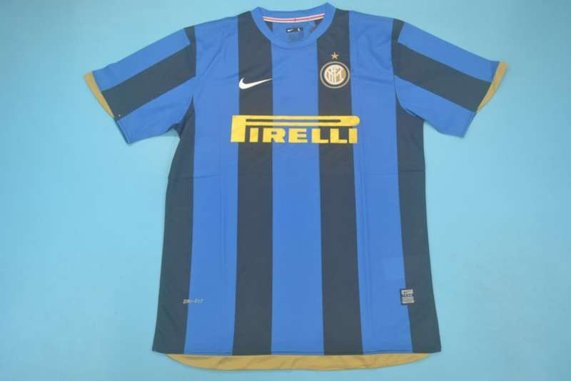 AAA Quality Inter Milan 2008/09 Home Retro Soccer Jersey