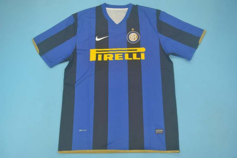 AAA Quality Inter Milan 2008/09 Home UCL Retro Soccer Jersey