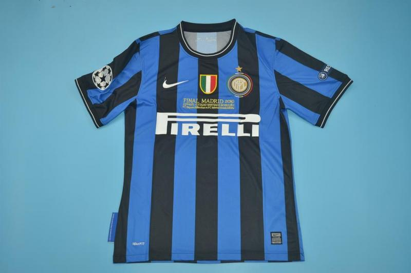 AAA Quality Inter Milan 2009/2010 Home Retro Soccer Jersey