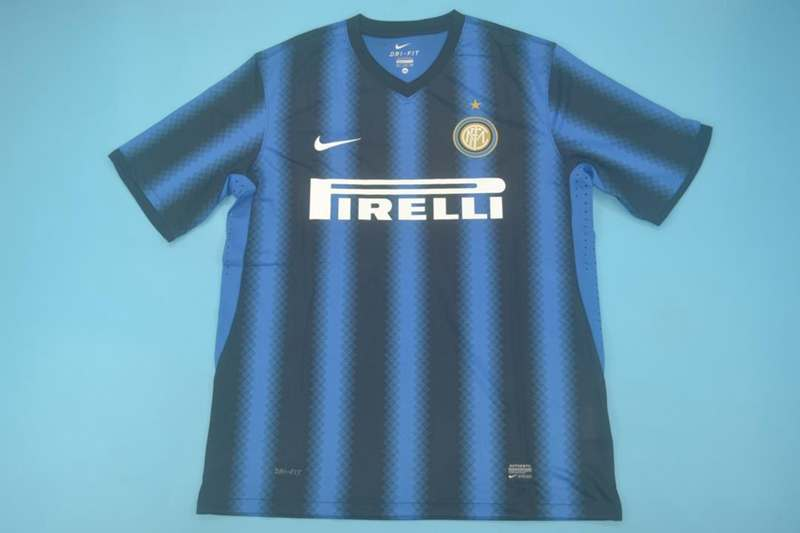 AAA Quality Inter Milan 2010/11 Home Retro Soccer Jersey