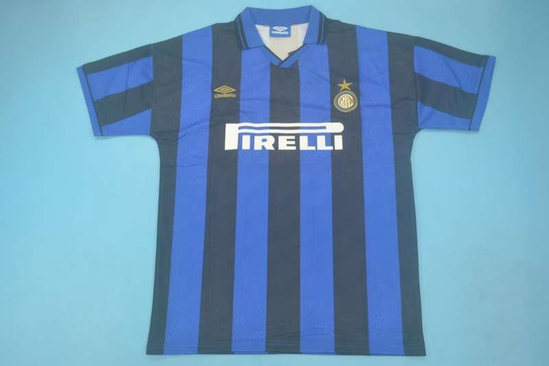 AAA Quality Inter Milan 1995/96 Home Retro Soccer Jersey