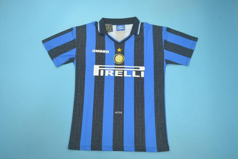 AAA Quality Inter Milan 1997/98 Home Retro Soccer Jersey