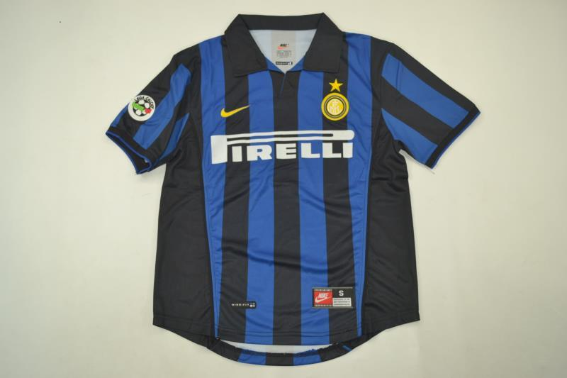 AAA Quality Inter Milan 1998/99 Home Retro Soccer Jersey