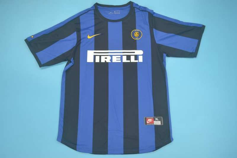 AAA Quality Inter Milan 1999/00 Home Retro Soccer Jersey