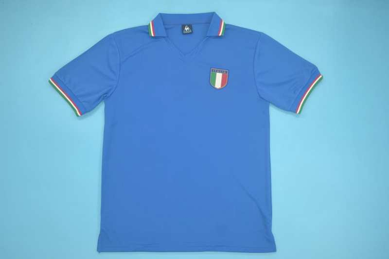 AAA Quality Italy 1982 Home Retro Soccer Jersey