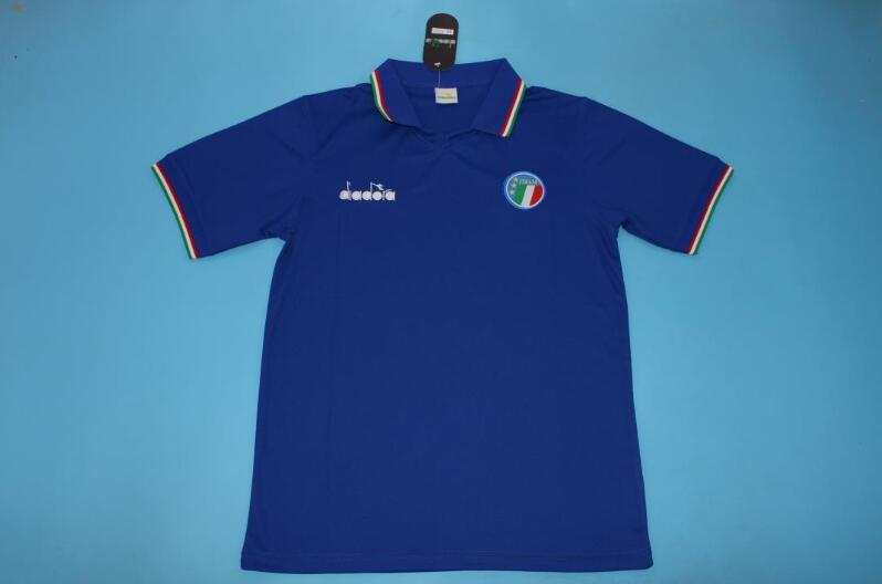 AAA Quality Italy 1986 Home Retro Soccer Jersey