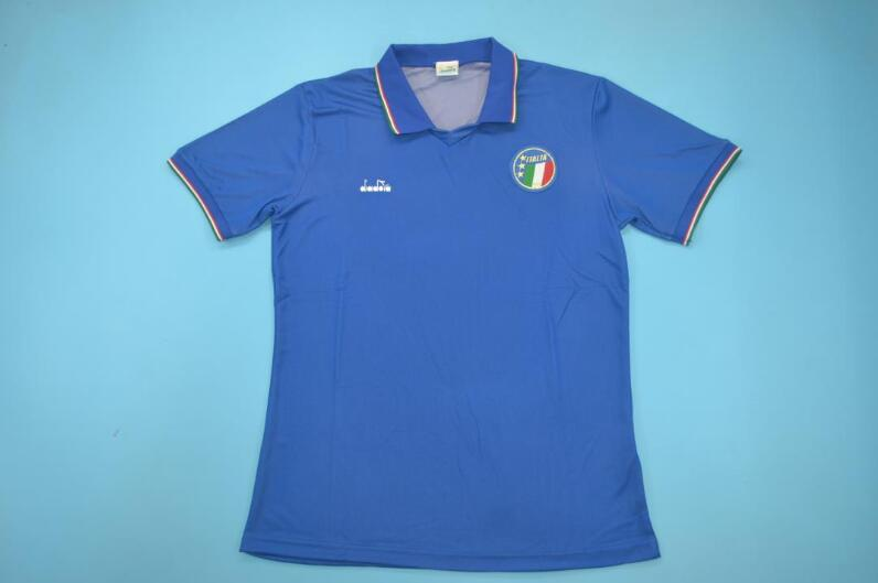 AAA Quality Italy 1990 Home Retro Soccer Jersey
