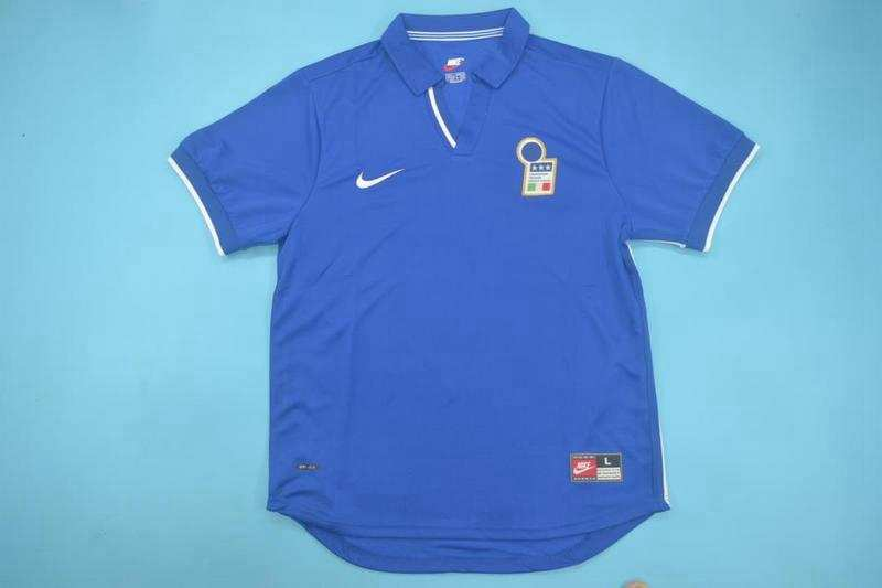 AAA Quality Italy 1998 Home Retro Soccer Jersey
