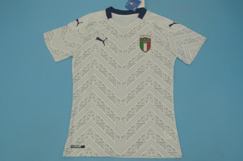 AAA Quality Italy 2020 EURO Away Soccer Jersey(Player)