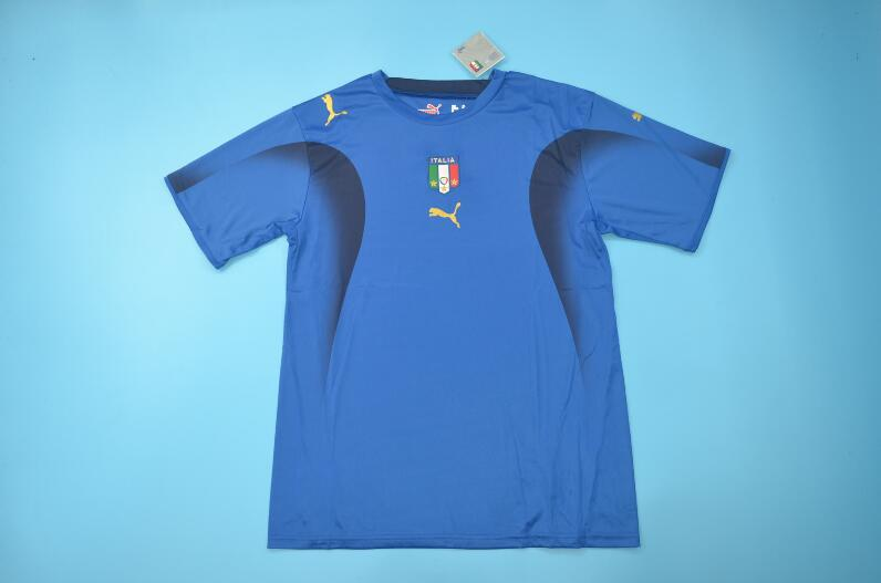 AAA Quality Italy 2006 Home Retro Soccer Jersey