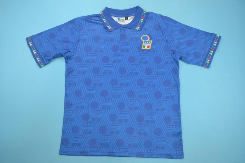 AAA Quality Italy 1994 Home Retro Soccer Jersey