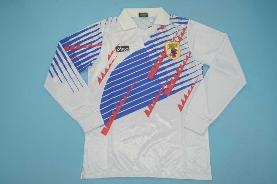 AAA Quality Japan 1994 Away Long Retro Soccer Jersey